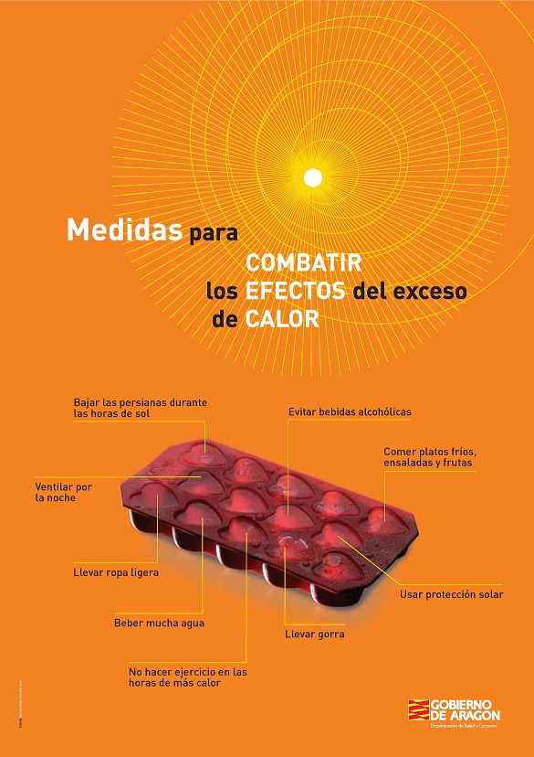 CARTEL EXCESOS CALOR